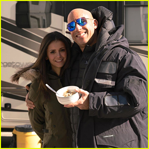 Nina Dobrev Had the 'Best First Day Ever' Filming Her New Movie With Vin Diesel
