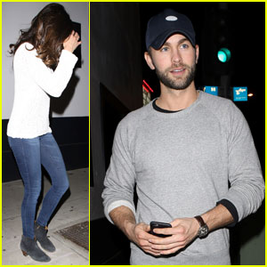 Nina Dobrev & Chace Crawford Enjoy Fun Night Out!