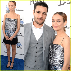 Olivia Cooke Supports Boyfriend Christopher Abbott at Independent Spirit Awards 2016
