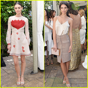 Phoebe Tonkin & Emily Ratajkowski Celebrate Women Behind The Lens at Net-a-Porter's Luncheon