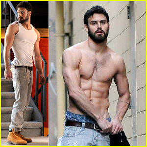 Ryan Guzman Goes Shirtless For His Latest Photo Shoot