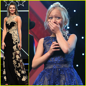 Alyvia Alyn Lind Wins Grace Award at MovieGuide Awards 2016 For 'Coat of Many Colors'