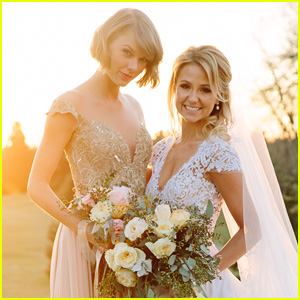 Taylor Swift Was the 'Happiest Maid of Honor' Over the Weekend! (Photos)