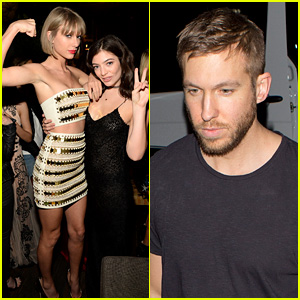 Taylor Swift Brings Calvin Harris to Grammys 2016 After Parties!