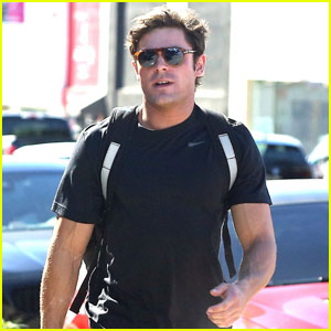 Zac Efron Gets His Fitness On Before Hanging With Girlfriend Sami Miro