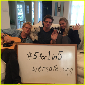 Cody & Alli Simpson Team Up for #5for1in5 Campaign PSA Video