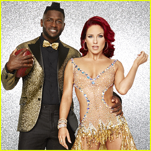 Pittsburgh Steeler's Antonio Brown & Sharna Burgess Rumba on 'Dancing With The Stars' (Video)