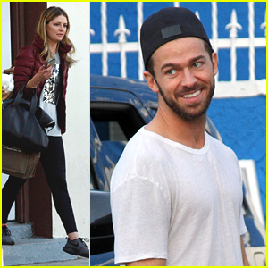 Mischa Barton Doesn't Mind That Artem Chigvintsev Is Tough On Her During Dance Rehearsals