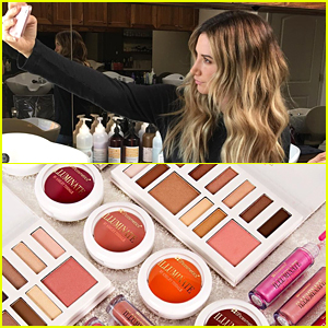 Ashley Tisdale Goes Lighter For Spring; Shows Off Glam Shot of New Cosmetics Line