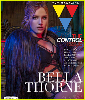 Bella Thorne Is Red Hot in VVV Magazine Cover Feature