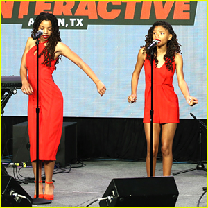 Chloe & Halle Perform 'This Is For My Girls' at SXSW Keynote With Michelle Obama