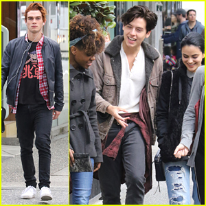 Cole Sprouse & KJ Apa Grab Lunch During 'Riverdale' Filming Break in Vancouver