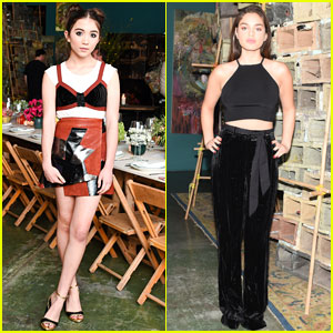 Rowan Blanchard Looks Chic at Rodarte & Other Stories Dinner with Odeya Rush