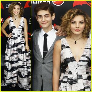 Gotham's David Mazouz & Camren Bicondova Attend 'Batman v. Superman' Premiere in NYC