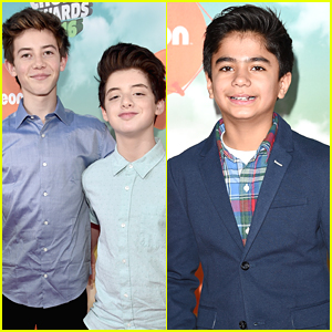 'Middle School' Stars Griffin Gluck & Thomas Barbusca Hit Kids Choice Awards 2016