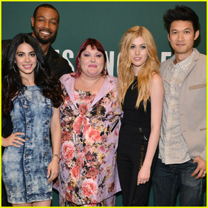 Katherine McNamara & 'Shadowhunters' Cast Stop By Cassandra Clare Book Signing