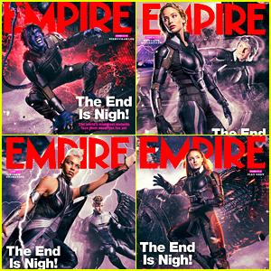 Kodi Smit-McPhee, Jennifer Lawrence & Alexandra Shipp Grab 'Empire' Covers for 'X-Men: Apocalypse'