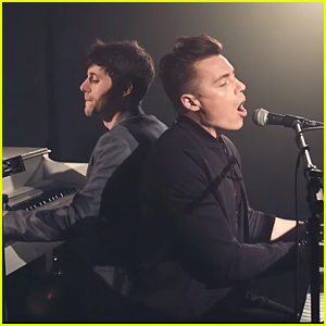 Kurt Hugo Schneider & Shawn Hook Play Dueling Pianos For New Disney Cover - Watch Now!