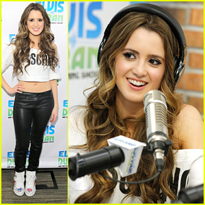 Laura Marano Brings The 'Boombox' In New York City