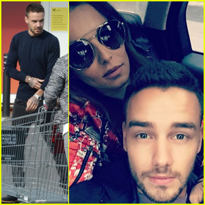 Liam Payne Shares Cute Selfie With New Girlfriend Cheryl Fernandez-Versini!