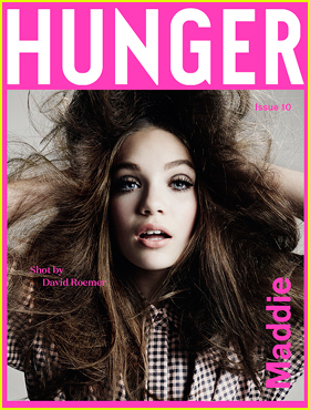 Maddie Ziegler Opens Up About Her Acting Career for 'Hunger' Magazine
