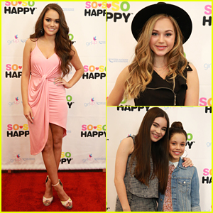 Madison Pettis Hosts 'So So Happy Beauty' Launch