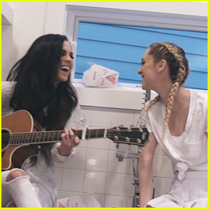 Megan & Liz Debut The Most Relatable Music Video Ever For 'Big Kids'