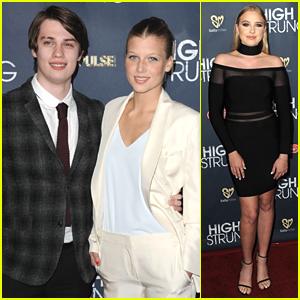 Keenan Kampa & Nicholas Galitzine Get Big Support At 'High Strung' Premiere