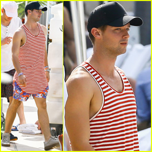 Patrick Schwarzenegger Hangs in Miami After Confirming New Girlfriend