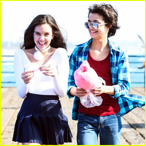 Rio Mangini & Lilimar Have a Fun Day at the Santa Monica Pier!