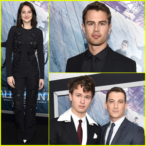 Shailene Woodley & Theo James Bring 'Allegiant' to NYC With Ansel Elgort & Miles Teller