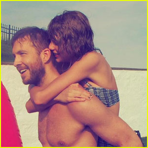 Taylor Swift Celebrates One Year With Boyfriend Calvin Harris!