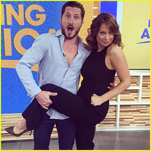 Val Chmerkovskiy Announces His DWTS Season 22 Partner - GMA's Ginger Zee!