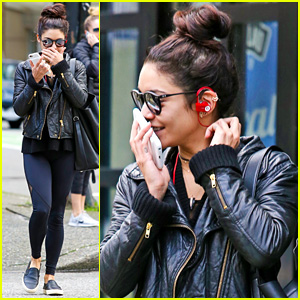 Vanessa Hudgens Keeps Her Yoga Routine While Filming 'Powerless'