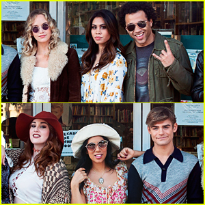 Garrett Clayton, Corbin Bleu & Ashley Argota Reunite For 'Almost Famous' Concert Event