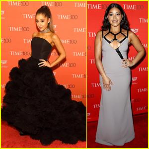 Ariana Grande & Gina Rodriguez Stun at Time 100 Gala!