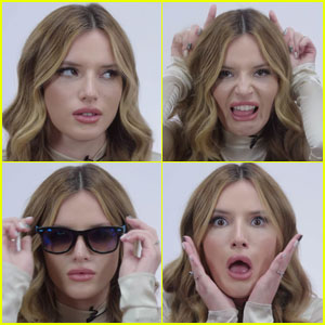 Bella Thorne Perfectly Recreates Emojis in This New Video - Watch Now!