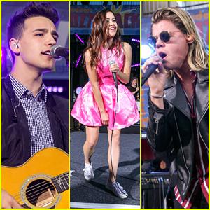 Jacob Whitesides, Megan Nicole, & Conrad Sewell Rock Nickelodeon's #BuzzTracks Live Concert! (Videos)