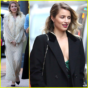 Dianna Agron Spends the Weekend in Aspen for Friend's Wedding
