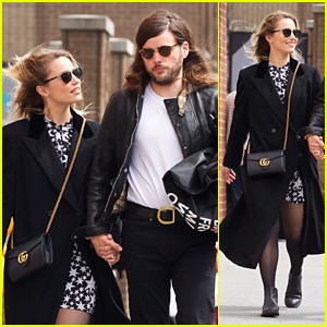 Dianna Agron Takes Sweet Stroll With Fiance Winston Marshall