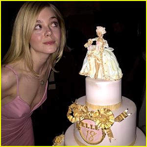 Elle Fanning Posts First Public Instagram Pic on 18th Birthday!