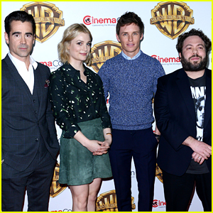 'Fantastic Beasts' Cast Makes First Appearance Together!