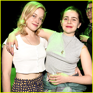 Mae Whitman & Jane Levy Hang Out at 'Green Room' Premiere!