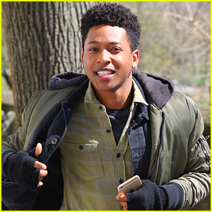 Jacob Latimore Grabs 'Collateral Beauty' Star-Studded Selfie in NYC