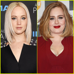 Jennifer Lawrence Gushes Over Pal Adele in 'Time 100' Essay
