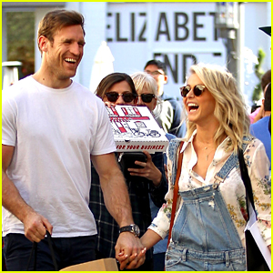Julianne Hough Laughs it Up With Fiance Brooks Laich