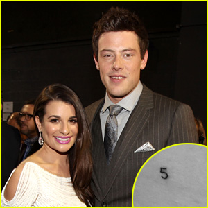 Lea Michele Gets '5' Tattoo to Honor Late Boyfriend Cory Monteith