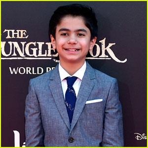 Neel Sethi Premieres 'The Jungle Book' in Hollywood!