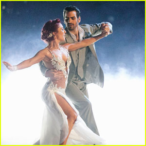 DWTS' Sharna Burgess 'Might Be a Little in Love' With Nyle DiMarco