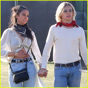 R5's Ross Lynch & Courtney Eaton Couple Up For First Day of Coachella 2016